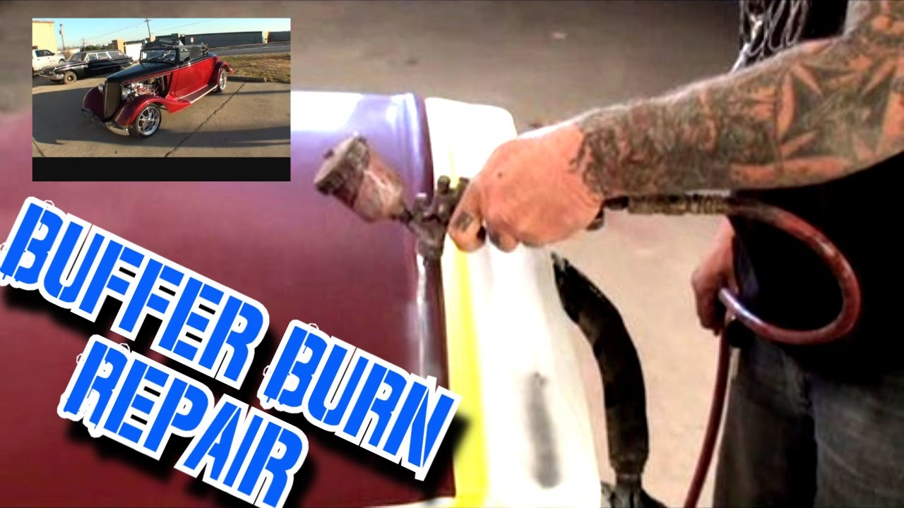 How To Buff A Car >> Buffer Burn Repair-How To Repaint Your F%CK UP! - YouTube