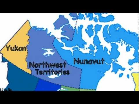 Grade 5 Blank Map Of Canada.The Provinces And Territories Of Canada
