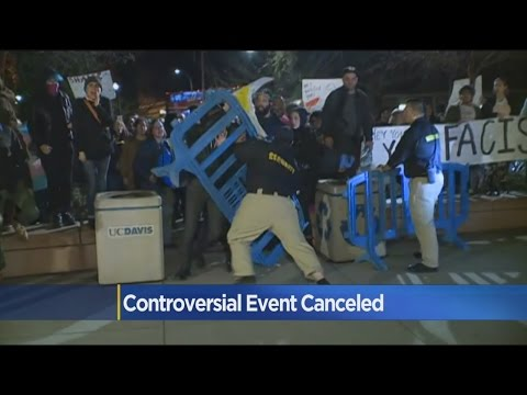 Protesters Shut Down Controversial Speaking Event At UC Davis