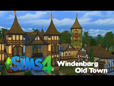 The Sims 4: Speed Build | Windenburg Old Town