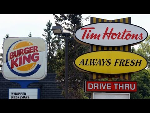 Burger King Buys Tim Hortons For $ 12.5 Billion