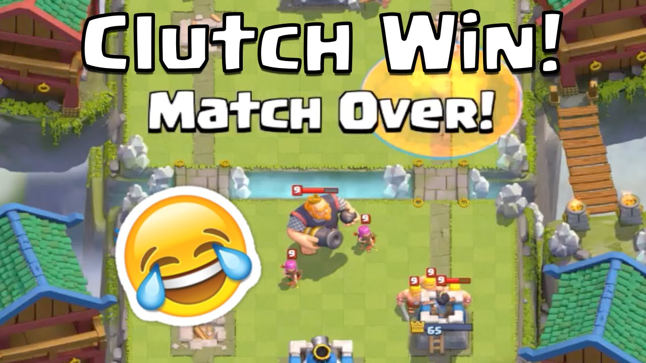 Clash Royale CLOSEST BATTLE EVER! - Clutch Win in Tournament - Clash Royale  Blood Bath Tournament by iChase