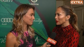 Jennifer Lopez Talks Foundation, Diddy, and Her Abs at Variety's Power of Women Event