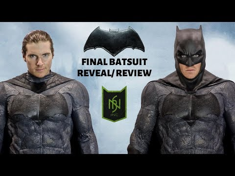 Hybrid Batfleck Batsuit Cosplay- Reveal/ Review!