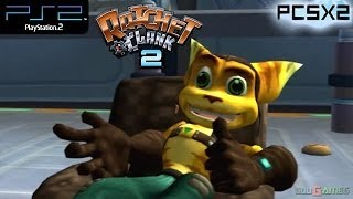 Ratchet & Clank 2 - PS2 Gameplay SD + FXAA (PCSX2)