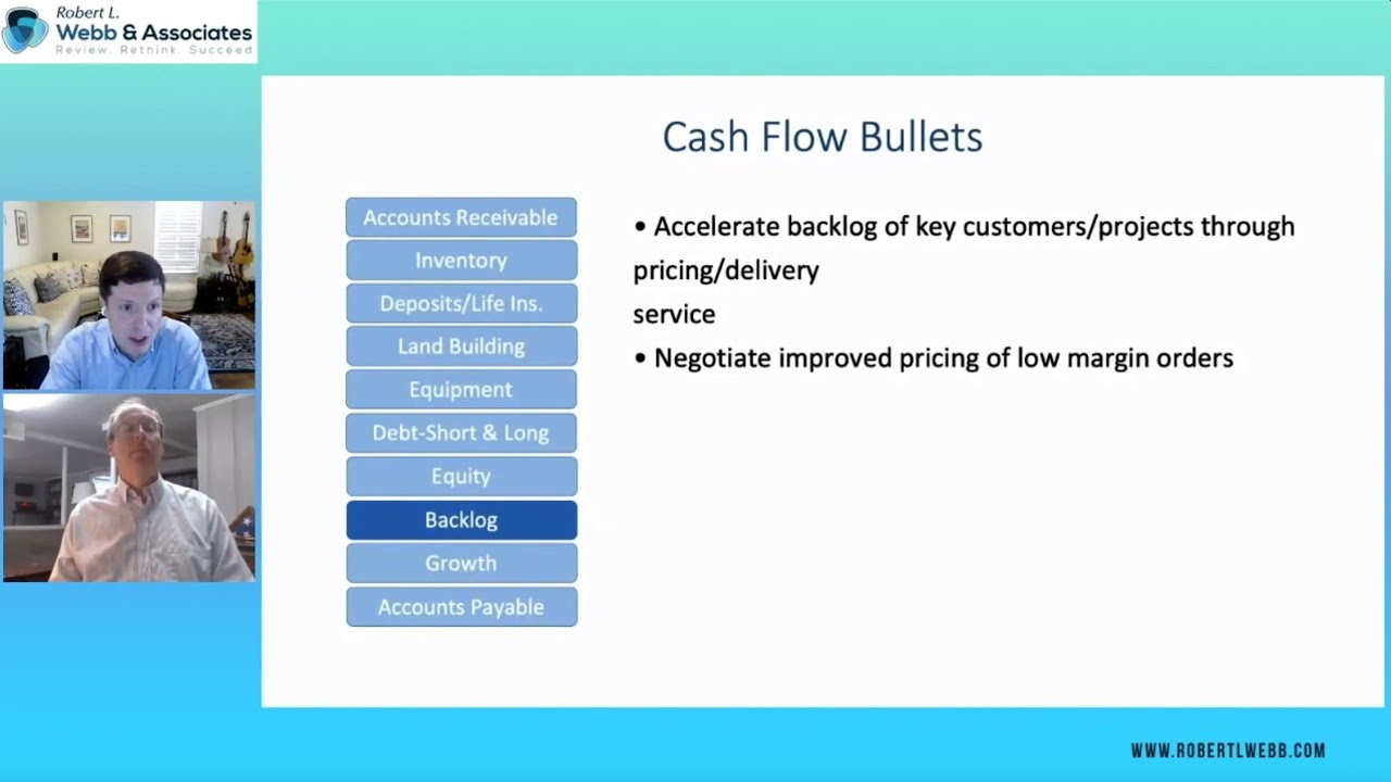 Accelerate your project backlog to improve cash flow