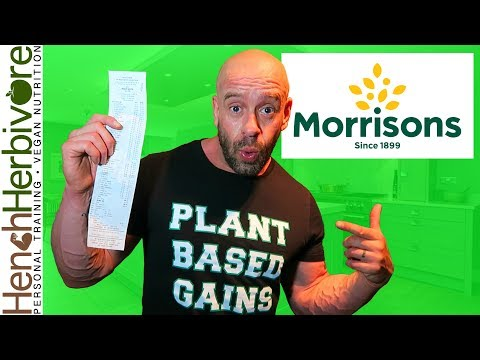 Morrisons: Vegan Wonderland? + Nutritionist's Food Haul.