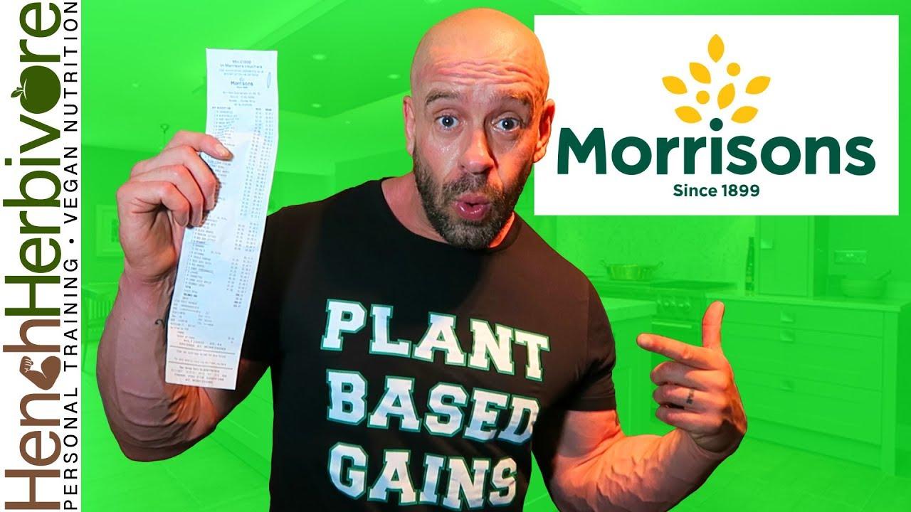 Morrisons Vegan Wonderland Nutritionists Food Haul