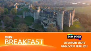 Arundel Castle Tulip Festival - BBC Breakfast