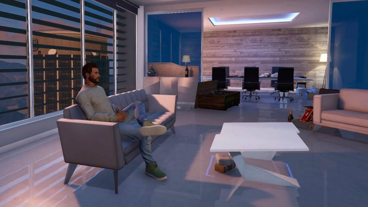 Mon Bureau De Luxe GTA ONLINE Prsentation YouTube