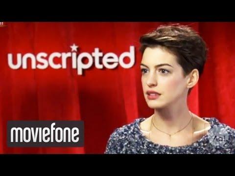 'Les Miserables'   Unscripted   Hugh Jackman, Anne Hathaway
