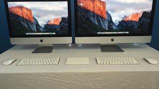 iMac 4k VS iMac 5k Comparison Late 2015