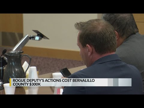 Rogue Deputy's Actions Cost Bernalillo County $300K