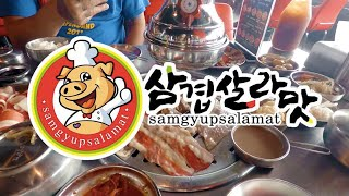 The best Samgyupsalamat branch | Food Vlog | Philippines 2019