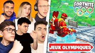 LES JEUX OLYMPIQUES DE FORTNITE ! (feat. @[ Unchained ]  @Deathy @Mlle Biscotte @DHM @Theo 18300 )