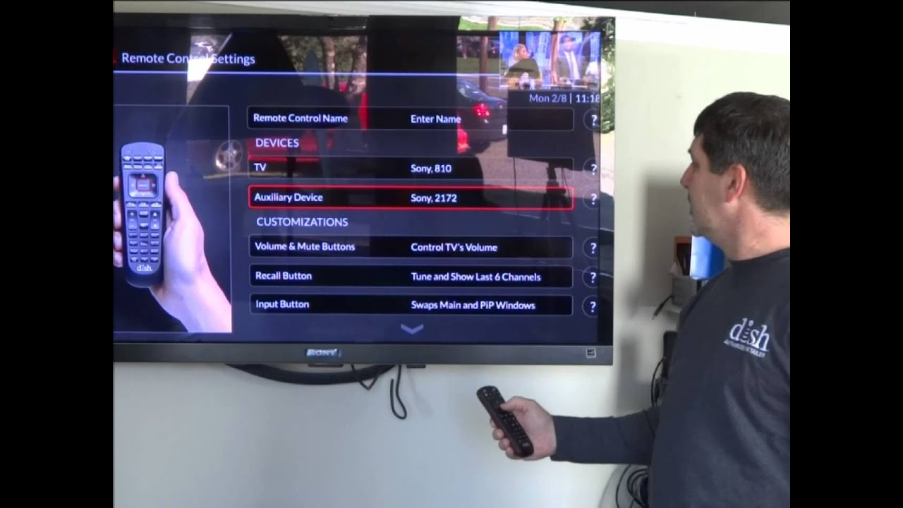 Hopper3 Remote Programming Instructions