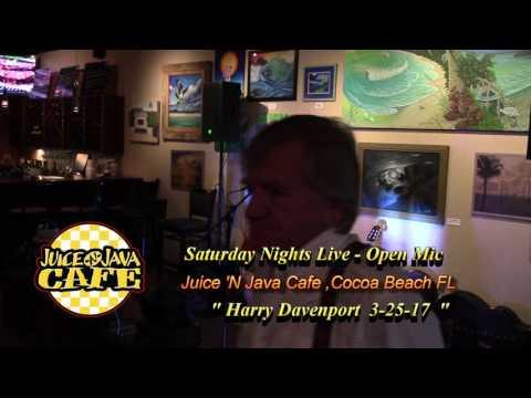 Harry Davenport @ Juice 'N Java Cafe Open Mic  3-25-17