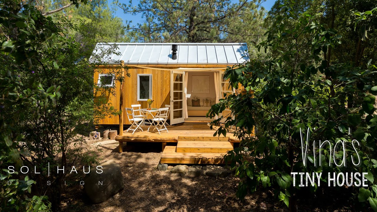 architecture spotlight 44 vinas tiny house ojai california youtube - Tiny Houses California