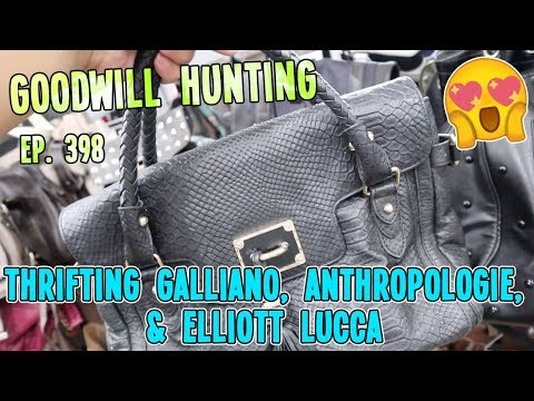 thrifting-galliano,-anthropologie,-&-elliott-lucca-|-goodwill-hunting-&-haul-ep.-398