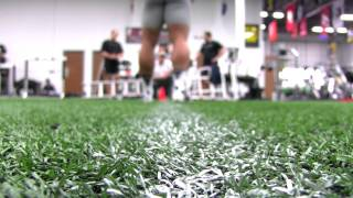 Mike Martin Trains for 2012 NFL Combine at Barwis Methods [Stop-Action]