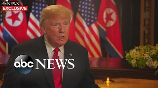 Trump insists on stopping the 'war games'