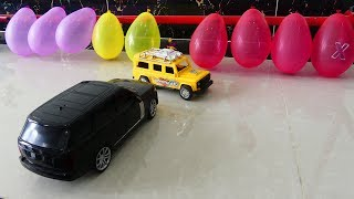 Wow Amazing! Experiment Play Cars VS Balloons colors for kids ! Toys Cars for Kids,