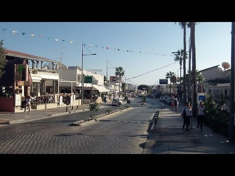 Driving To Ayia Napa, Cyprus By Bus (Oct 20, 2016)