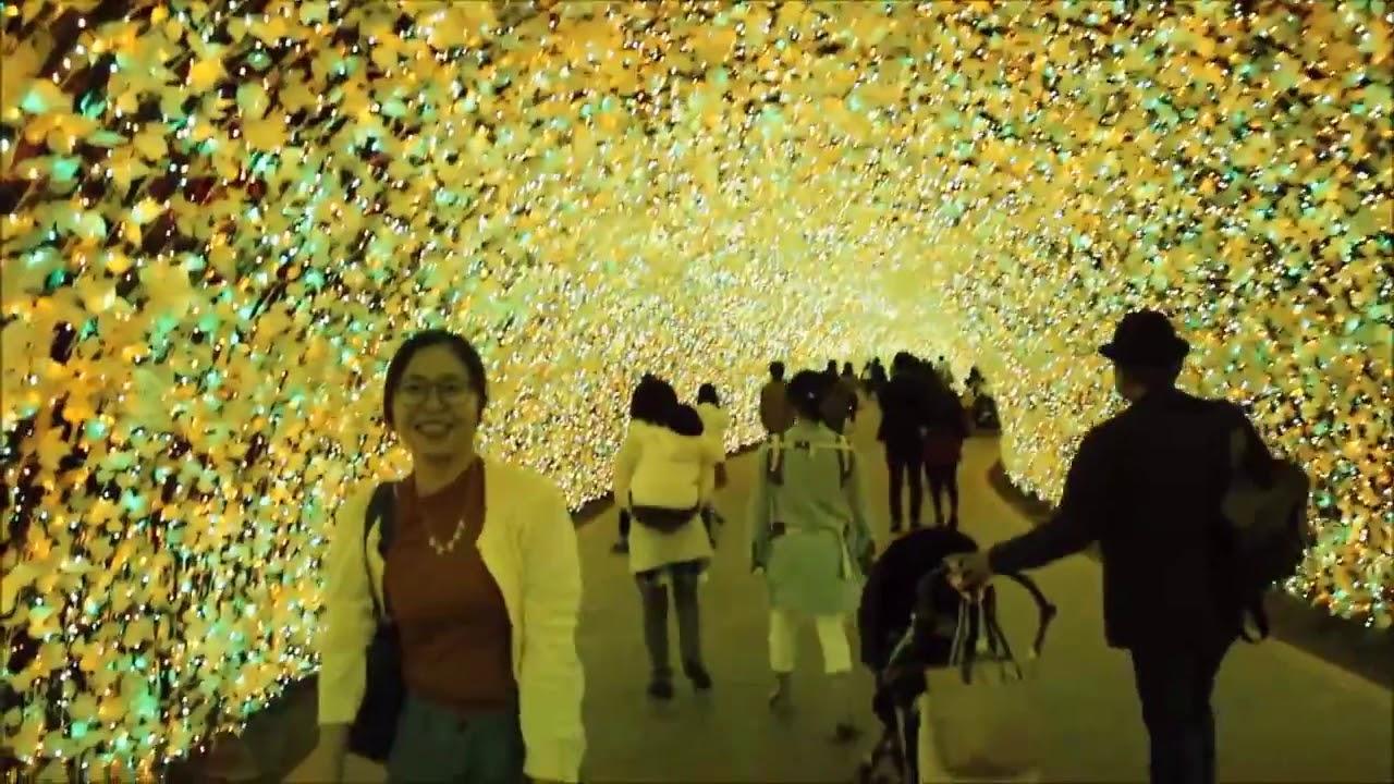 Lễ hội ánh sáng Nabana No Sato Japan (Tỉnh Mie Nhật Bản)