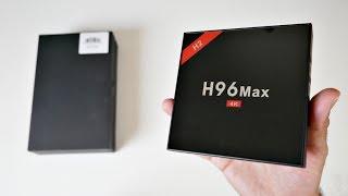 2018 H96 Max H2 Android 7.1 TV Box - RK3328 - 4GB + 32GB