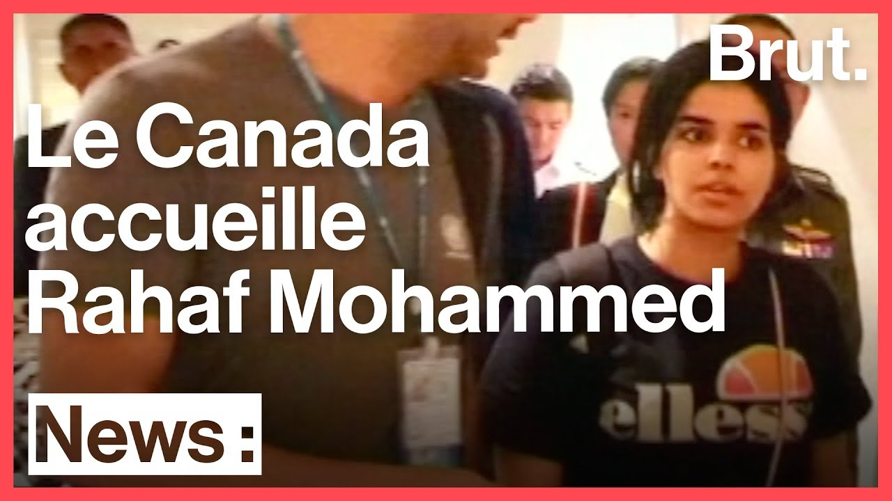 La Saoudienne Rahaf Mohammed Al-Qunun accueillie au Canada