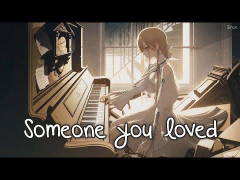 Nightcore - Someone You Loved (Female Version) - (Lyrics)
