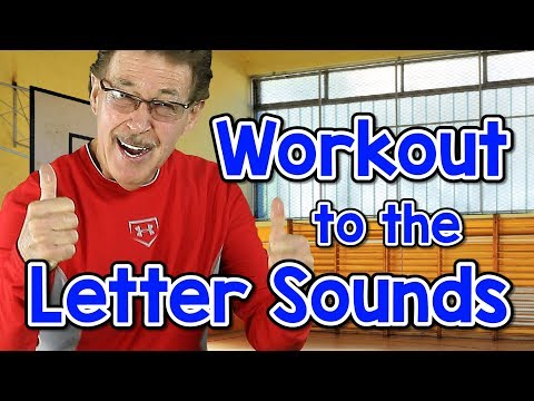 Workout to the Letter Sounds | Version 3 | Letter Sounds Song | Phonics for Kids | Jack Hartmann