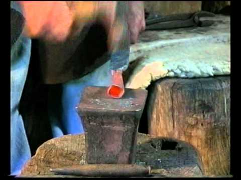 Forging a Celtic Spearhead  IMPROVED VERSION