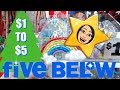 FIVE BELOW CHRISTMAS SHOPPING!!! *NEW* $1 to $5 GIFTS & STOCKING STUFFERS!!!
