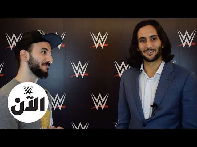 FIRST EVER Saudi NXT Superstar Mansoor speaks to WWE Al An