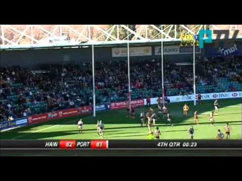 PTV: Final two minutes - Power v Hawks R20, 2007 - Friday Flashback