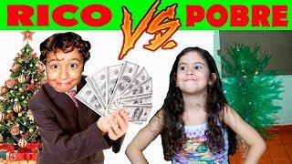 RICO Vs POBRE NO NATAL -  Rich vs poor at christmas