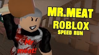MR MEAT FULL GAME | Mr Meat Roblox Map Speed Run