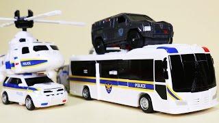 헬로카봇 케이캅스 오픈케이스 프론 경찰차 스카이 Carbot K-Cops SWAT CARBOT