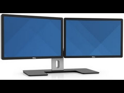 How to spread your background across dual monitors - YouTube