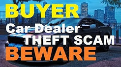 """BUYER BEWARE of Car Dealer """"Theft Protection,"""" VIN etch, Auto Window Etching Scam"""
