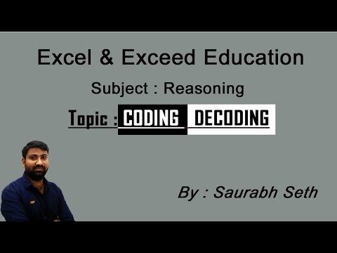 Coding Decoding new pattern | IBPS PO 2017 | IBPS RRB 2017 | Reasoning