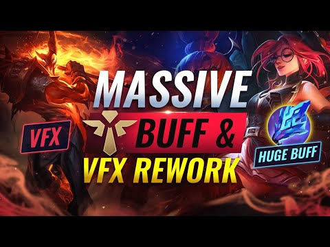 NEW UPDATE: MASSIVE SUPPORT BUFFS & NEW Visual Update – League of Legends Season 11