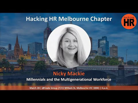 Nicky Mackie Presenting At Hacking HR