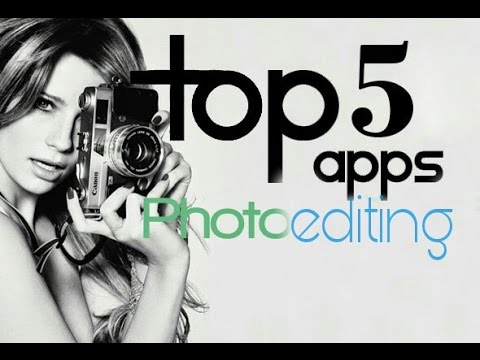 TOP 5 PHOTO EDITING APPS FOR ANDROID||  TECHNICAL TECHNOLOGY
