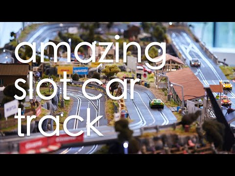 Amazing slot car track Carrera Digital 132 – Rustic Hill 2020
