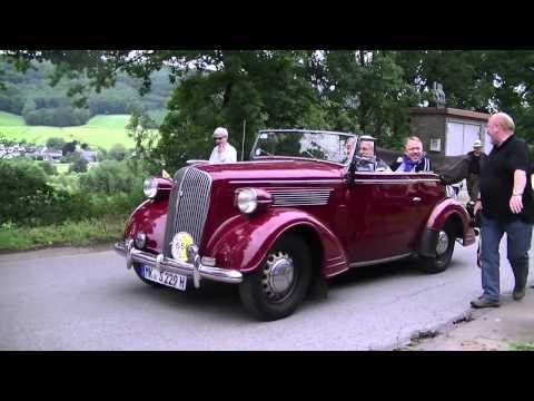 Oldtimertreffen bei der Sauerländer Kleinbahn am 1. Juli 2012 [HD 720p]