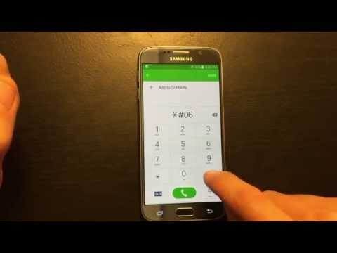 how to find serial number on galaxy s8