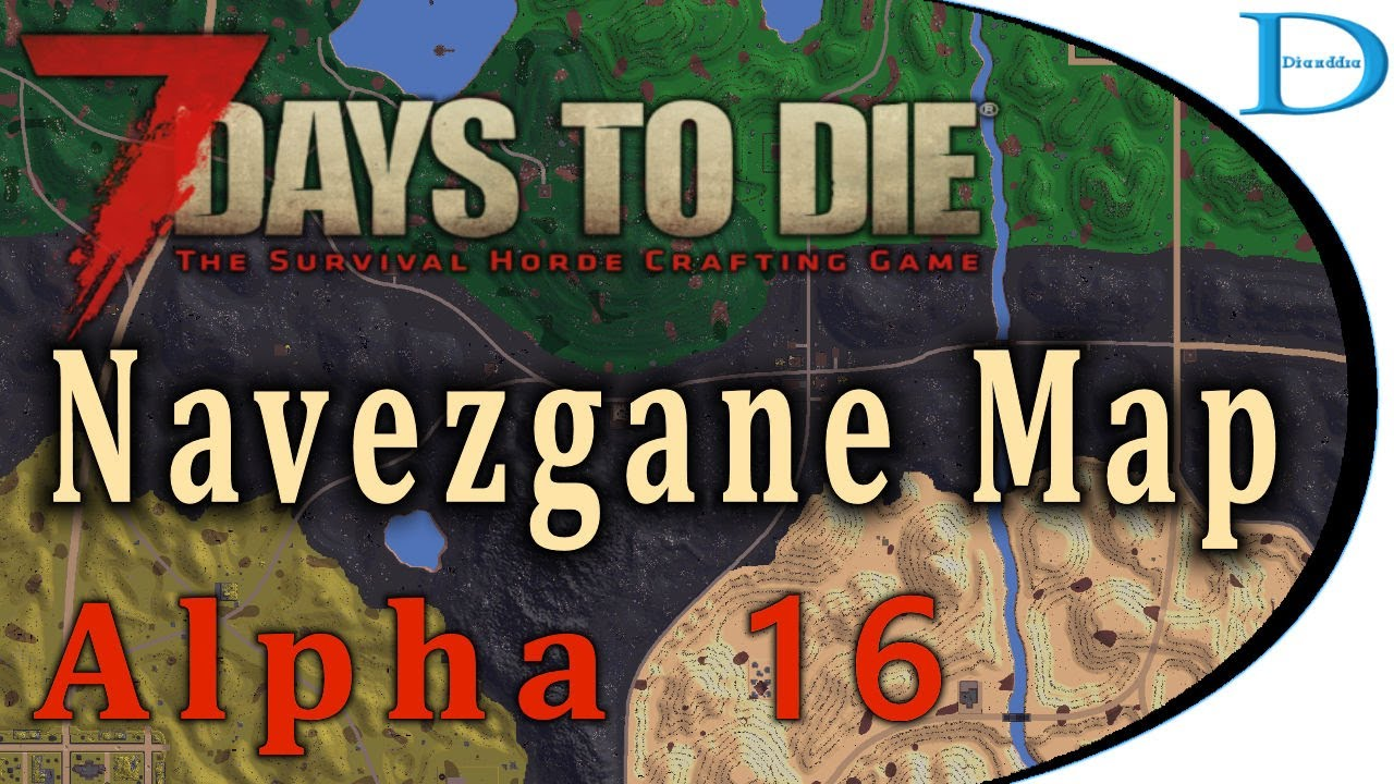 7days to die マップ