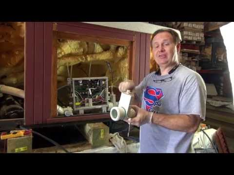 Slice Gate Valve Heater Union Replacement Hot Tub How To Spa Guy PVC Plumbing